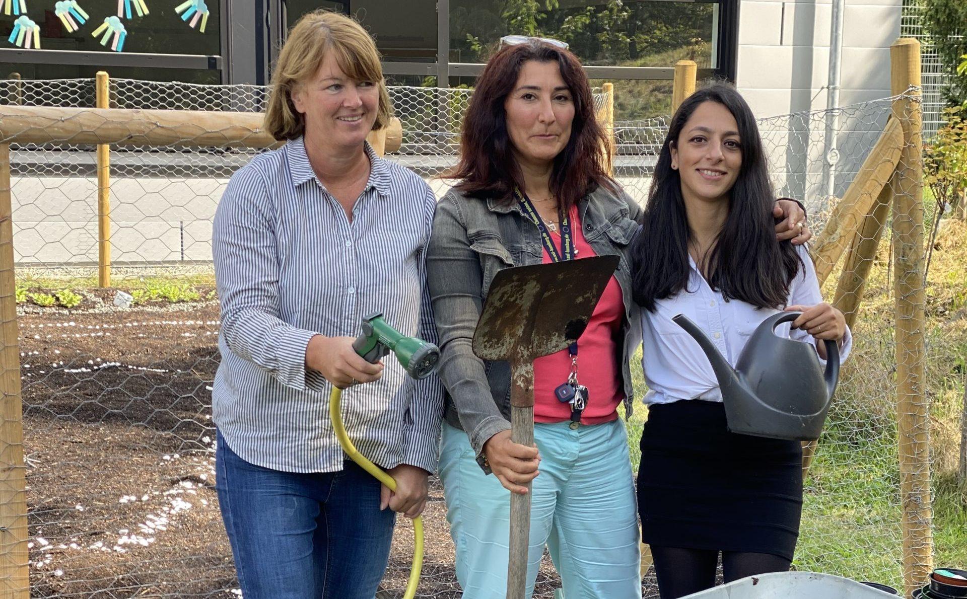 Projekt Schulgarten an der BMK